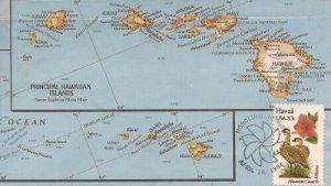 1963 20c HAWAII - Don Kauer paste on cachet