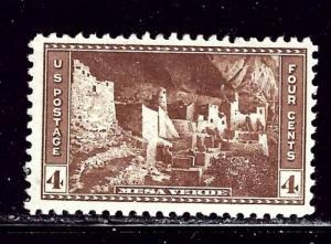 U.S. 743 MNH 1934 Mesa Verde