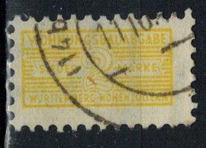 Germany - Occupation Postal Tax - Scott 8NRA4