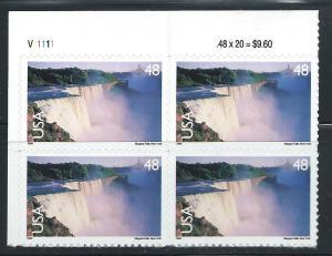 UNITED STATES SC# C133 F-VF MNH 1999 PL#V11111 UL B/4