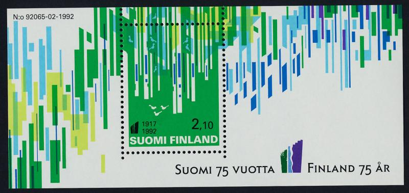 Finland 897 MNH Art, 75th Anniv of Independence