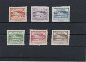 Bolivia Early Mounted Mint Revenue Stamps Ref: R4234