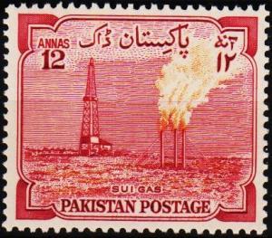 Pakistan. 1955 12a S.G.76 Mounted Mint