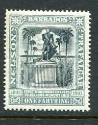 Barbados #102 Mint (Box1)