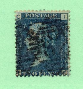 Great Britain - SG# 47 Used / Plate 13  /  Lot 0717116