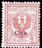 Italy, Coos (Individual Islands) MH