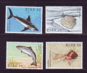 Ireland Sc 525-8 1982 Sea Life stamp set mint NH