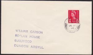 GB SCOTLAND 1969 cover CULNAGNOCK / PORTREE cds............................67856