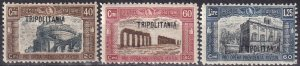 Tripolitania #B19-21  F-VF Unused CV $9.00 (Z6871)