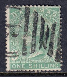 Bahamas - Scott #22 - Used - Short perfs at bottom, pencil/rev. - SCV $18