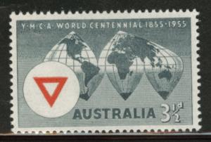 AUSTRALIA Scott 283 MNH** 1955 YMCA stamp