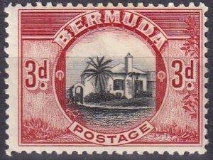 Bermuda #111  F-VF Used CV $3.00 (Z2479)
