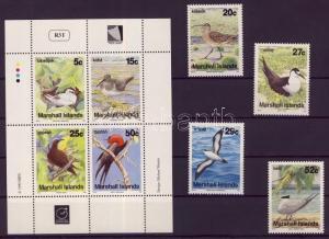 Marshall Islands stamp Birds set 1990 MNH Mi 284-287 + 343-346 WS103871