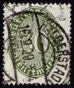 Germany #O77 Official - Numeral; Used (0.90)