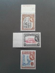 British Guiana  281,283-284 VF MNH. Scott $ 3.05