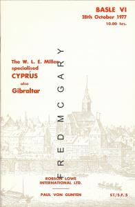 Philatelic Literature: W. L. E. Miller Specialized Cyprus & Prices Realized