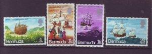 J22003 Jlstamps 1971 bermuda set mh #280-3 ships