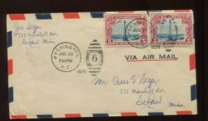 Scott C11 Beacon FDC witih **SCARCE 1:30PM TIME STAMP** (Stock C11-FDC 38)