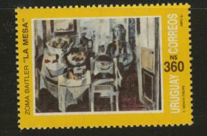 Uruguay Scott 1404 MNH** from 1991