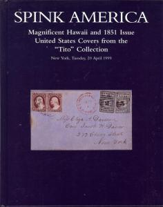 Spink: Sale # 9110  -  Magnificent Hawaii and 1851 Issue ...
