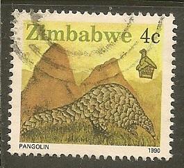 Zimbabwe  Scott 617    Animal            Used