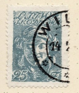 LITHUANIA 1920-22 Early Issue Fine Used 25f. NW-07171