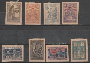 #16,19,22-27 Azerbaijan Mint OGH