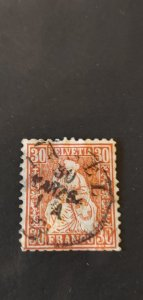 Switzerland #46 Used
