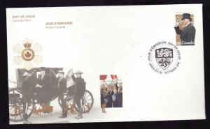 Canada-Sc#2024-stamp on FDC-Governor General Ramon Hnatyshyn-2004-