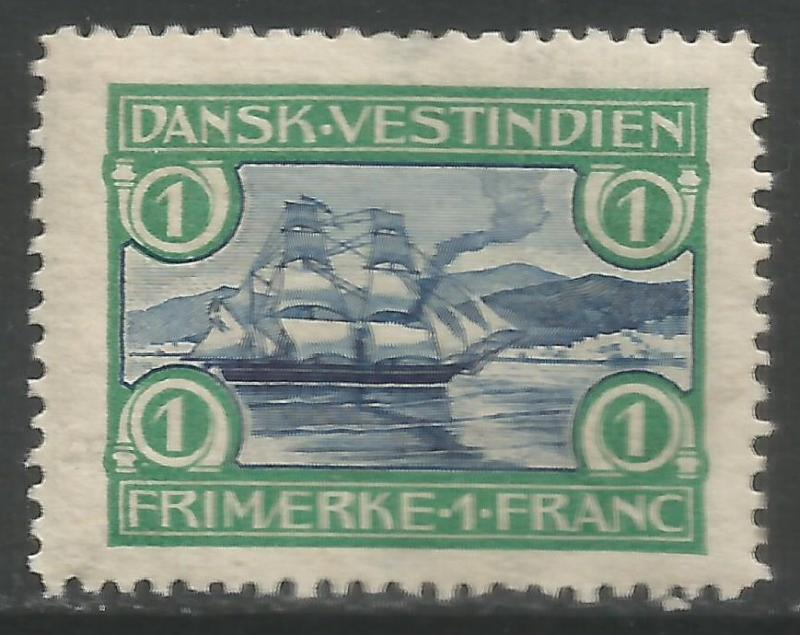 DANISH WEST INDIES 37 MOG X700
