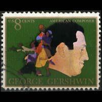 U.S.A. 1973 - Scott# 1484 Composer Gershwin 8c Used