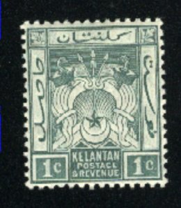 Malaya-Kelatan #1    Mint NH VF  1911-15 PD