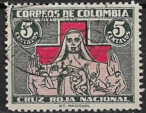 1935 Columbia ScRA1 Greatest Mother/Red Cross used