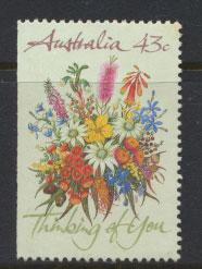 Australia SG 1231  Used imperf left margin from booklet