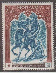 Monaco Scott #682 Stamp - Mint NH Single