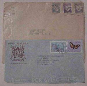 MOZAMBIQUE  2 COVERS 1937,1957