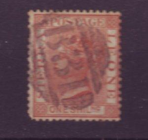 J21935 Jlstamps 1883-93 sierra leone used #31 queen wmk 2 short perfs