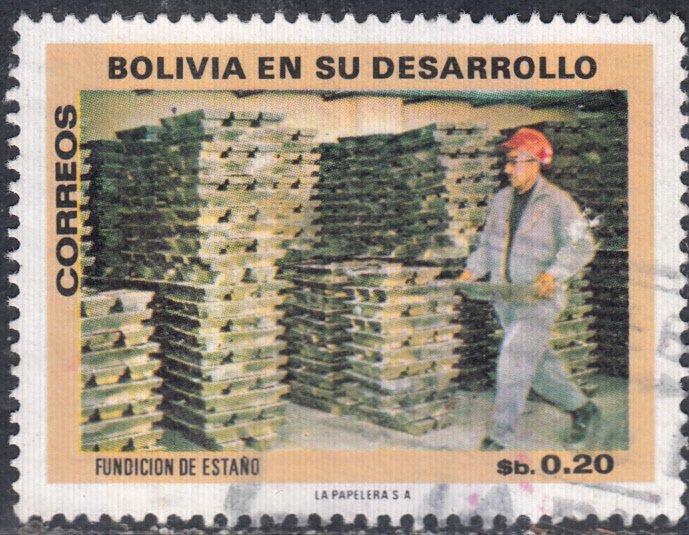 Bolivia  #555 Used