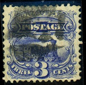 U.S. #114 Used VF-XF