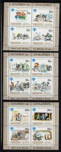 Penrhyn Is Sc 111-13 1979 IYC stamp sheetss mint NH