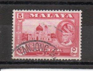 Malaya - Perak 130 used