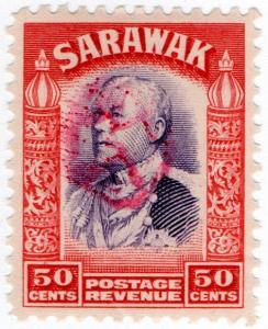 (I.B) Sarawak Revenue : Japanese Occupation OP 50c