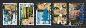 Kiribati mnh  sc. #  582 - 586
