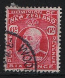 NEW ZEALAND, 137, USED, 1902-12, Edward VII