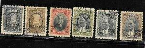 (K00) TURKEY / 1936 - Strait-Treaty of Montreux, Used, Mi #1004/9, CV 13€