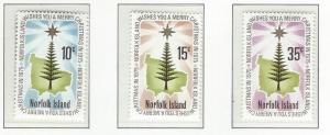 Norfolk Island    MNH sc  187 - 189