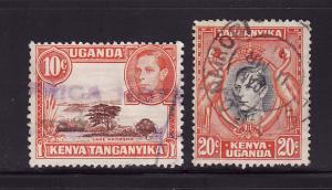 Kenya, Uganda, Tanzania 69, 74 U King George VI (B)