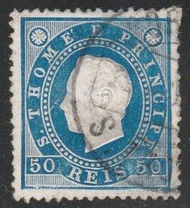 St Thomas & Prince Islands #20 Used Single Stamp