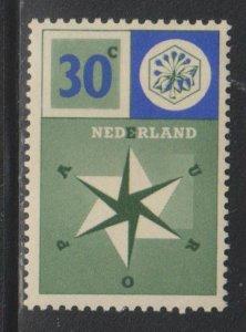 Netherlands,  30c United Europe (SC# 373) MNH