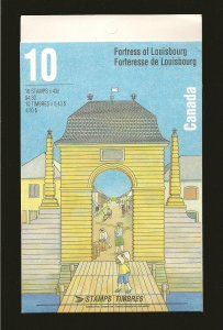 Canada BK175 Fortress Of Louisbourg Booklet of 10 MNH